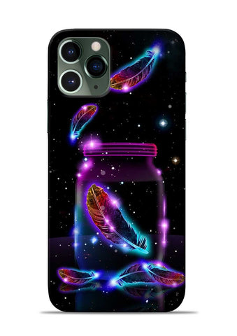 Glowing Bird Fur iPhone 11 Pro Mobile Back Cover