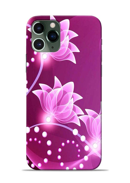 Pink Flower iPhone 11 Pro Mobile Back Cover