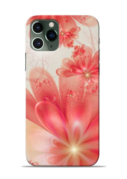 Glowing Flower iPhone 11 Pro Mobile Back Cover