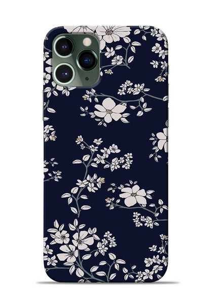 The Grey Flower iPhone 11 Pro Mobile Back Cover