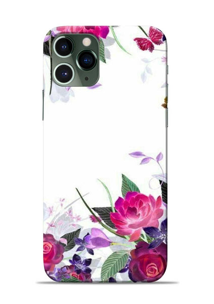 The Great White Flower iPhone 11 Pro Mobile Back Cover