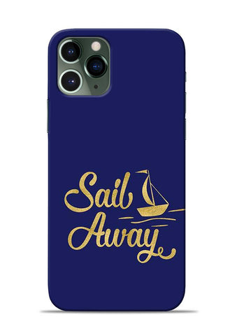 Sail Always iPhone 11 Pro Mobile Back Cover