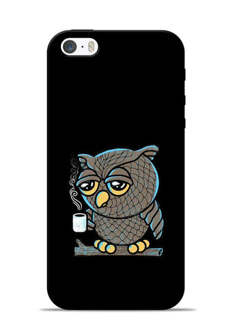Sleepy Owl iPhone 5s Mobile Back Cover