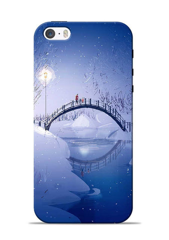 Night Bridge iPhone 5s Mobile Back Cover