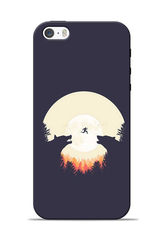 Wolf Bear iPhone 5s Mobile Back Cover