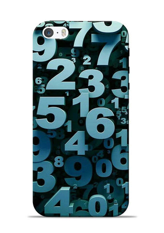 The Numbers iPhone 5s Mobile Back Cover