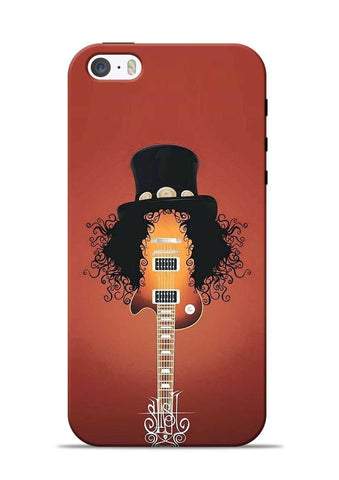 Love Guitar iPhone 5s Mobile Back Cover