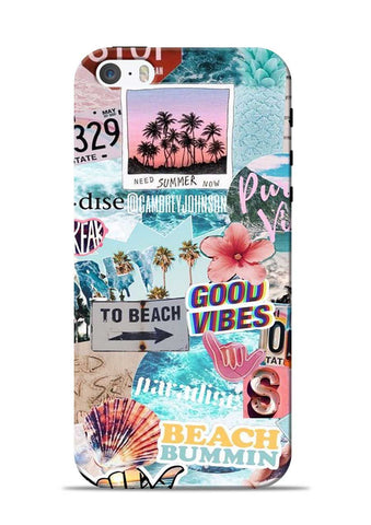 Beach Lover iPhone 5s Mobile Back Cover