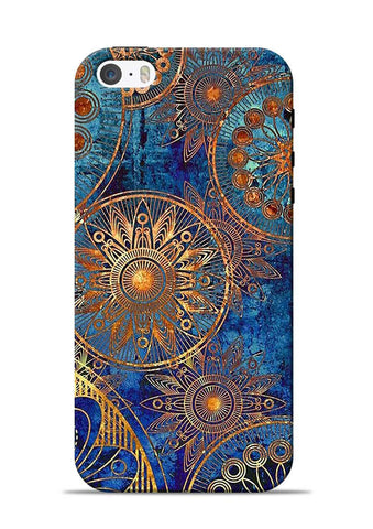 Copper Stamp iPhone 5s Mobile Back Cover