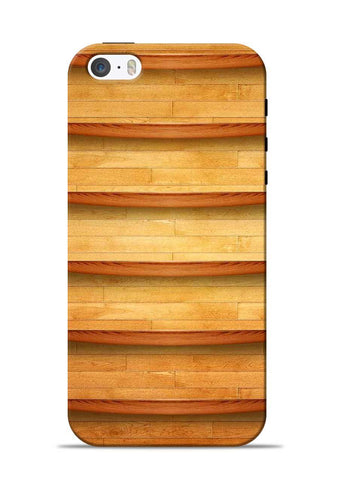 Wooden Texture iPhone 5s Mobile Back Cover