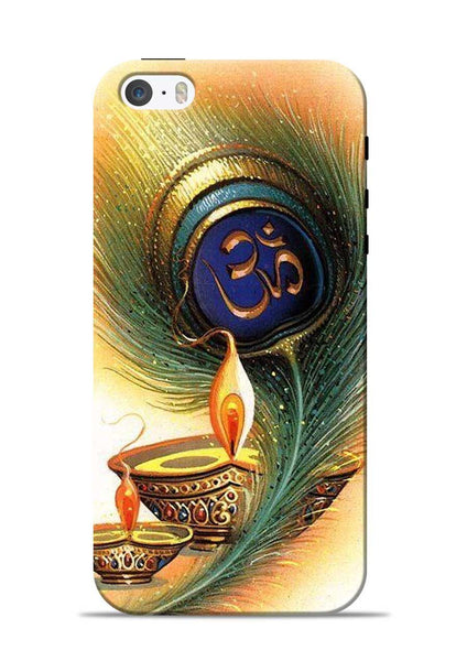 The Glowing Diya iPhone 5s Mobile Back Cover