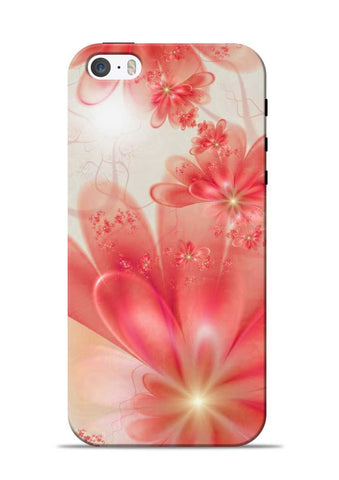 Glowing Flower iPhone 5s Mobile Back Cover