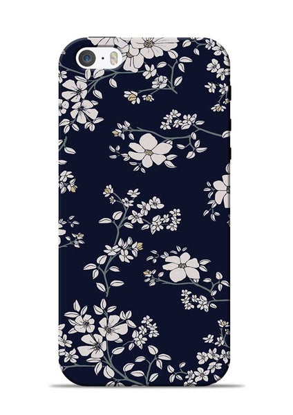 The Grey Flower iPhone 5s Mobile Back Cover