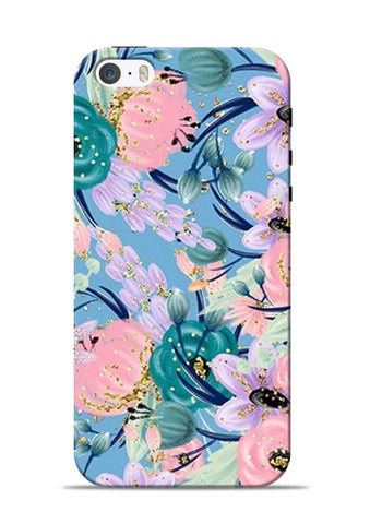 Lovely Flower iPhone 5s Mobile Back Cover