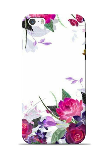 The Great White Flower iPhone 5s Mobile Back Cover