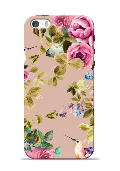 Red Rose iPhone 5s Mobile Back Cover
