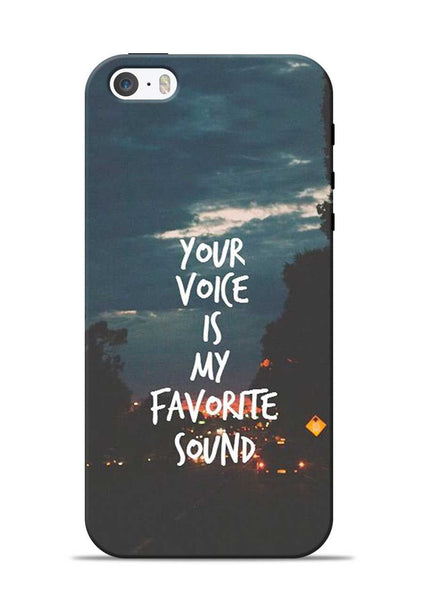 Your Voice iPhone 5s Mobile Back Cover