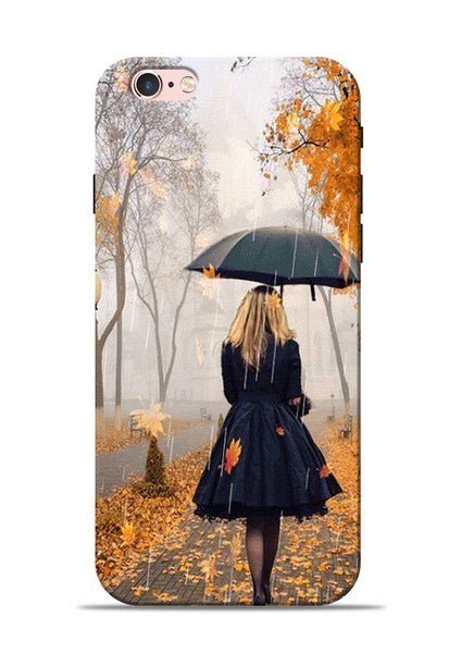 Walk In A Rain iPhone 6 Mobile Back Cover