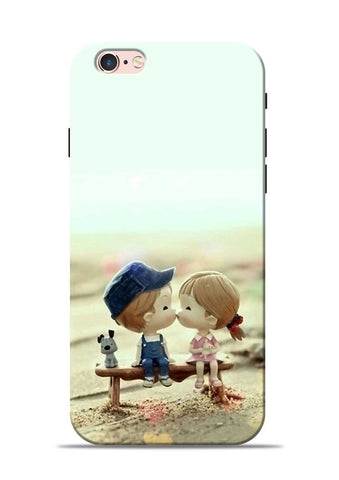 The First Kiss iPhone 6 Mobile Back Cover