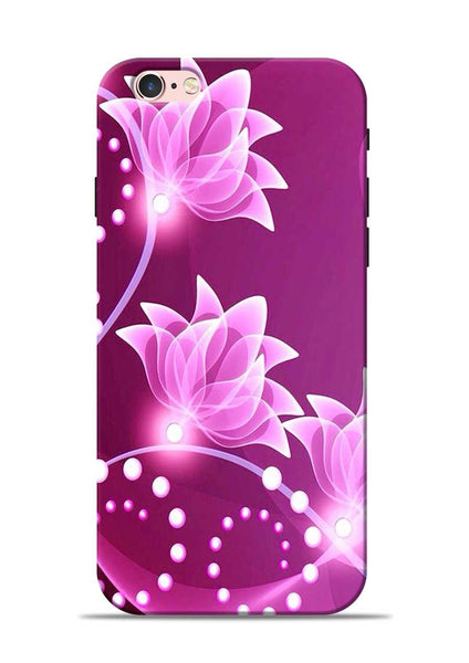 Pink Flower iPhone 6 Mobile Back Cover