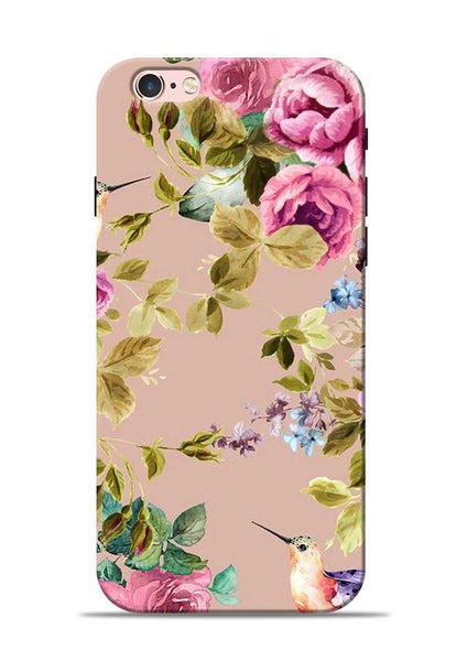Red Rose iPhone 6 Mobile Back Cover