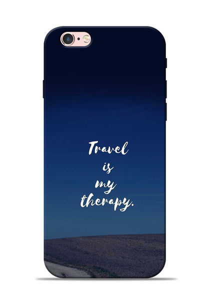 Travel Is My Therapy iPhone 6 Mobile Back Cover