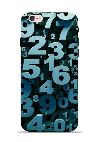 The Numbers iPhone 6s Mobile Back Cover