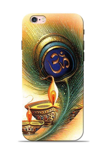 The Glowing Diya iPhone 6s Mobile Back Cover