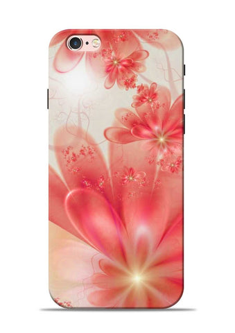 Glowing Flower iPhone 6s Mobile Back Cover