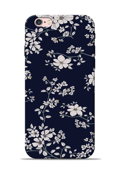The Grey Flower iPhone 6s Mobile Back Cover