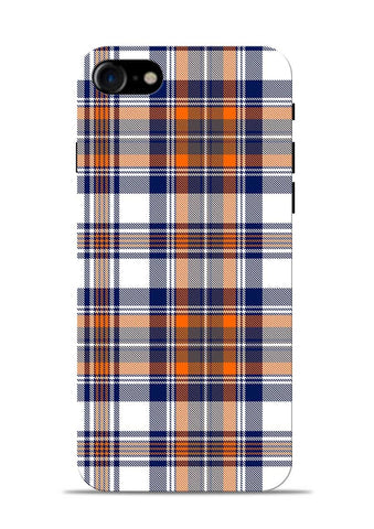 Colorful Checks iPhone 7 Mobile Back Cover