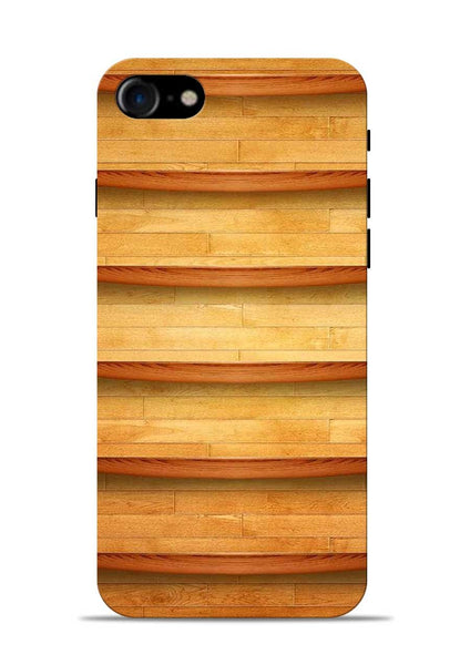 Wooden Texture iPhone 7 Mobile Back Cover