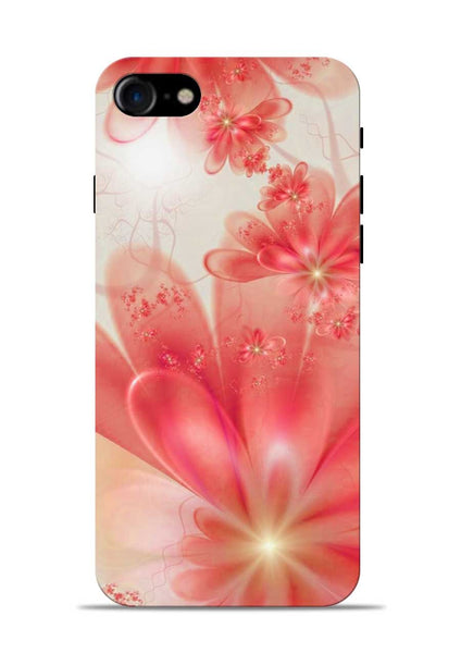 Glowing Flower iPhone 7 Mobile Back Cover