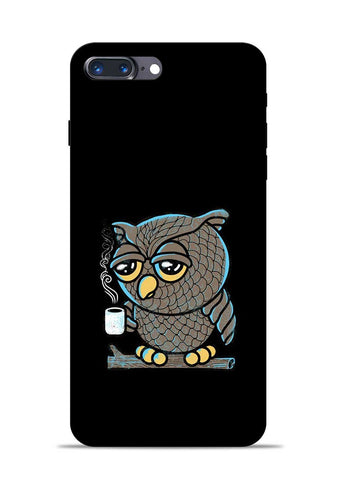 Sleepy Owl iPhone 7 Plus Mobile Back Cover