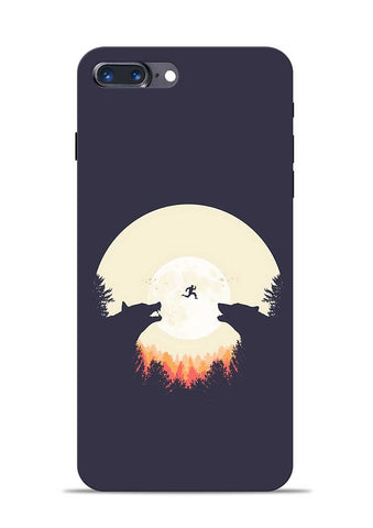 Wolf Bear iPhone 7 Plus Mobile Back Cover