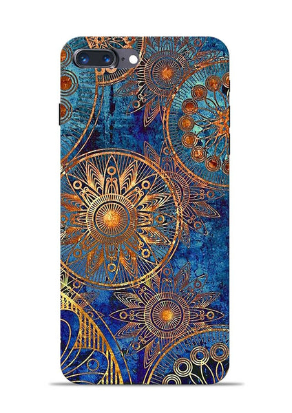 Copper Stamp iPhone 7 Plus Mobile Back Cover