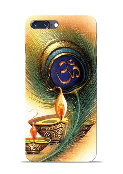 The Glowing Diya iPhone 7 Plus Mobile Back Cover