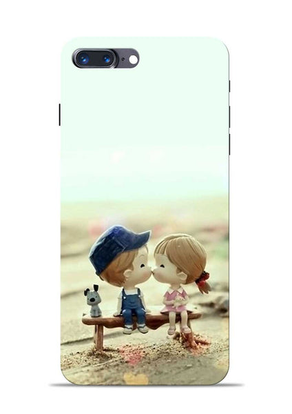 The First Kiss iPhone 7 Plus Mobile Back Cover