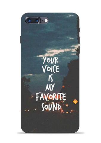 Your Voice iPhone 7 Plus Mobile Back Cover