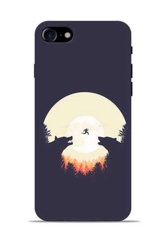 Wolf Bear iPhone 8 Mobile Back Cover