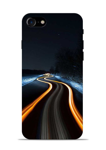 Great Night Drive iPhone 8 Mobile Back Cover