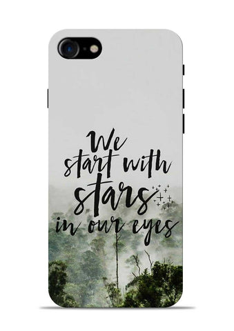Stars In Eye iPhone 8 Mobile Back Cover