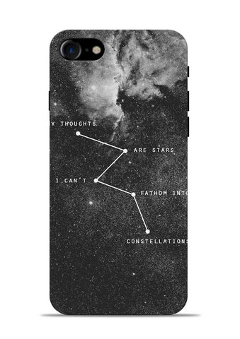 My Thoughts iPhone 8 Mobile Back Cover