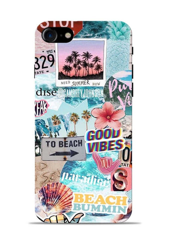 Beach Lover iPhone 8 Mobile Back Cover