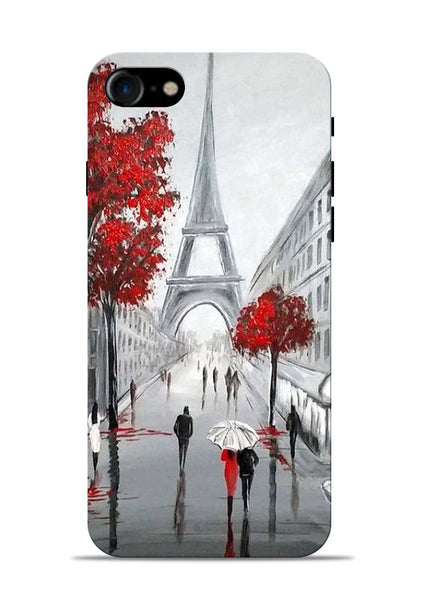 Eiffel Tower iPhone 8 Mobile Back Cover