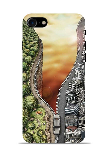 Forest City iPhone 8 Mobile Back Cover