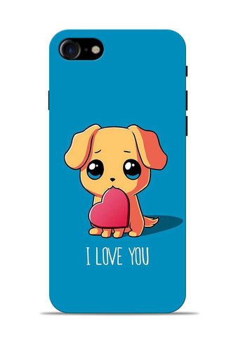 The Love iPhone 8 Mobile Back Cover