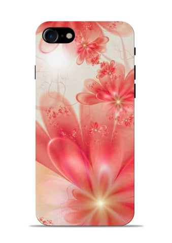Glowing Flower iPhone 8 Mobile Back Cover