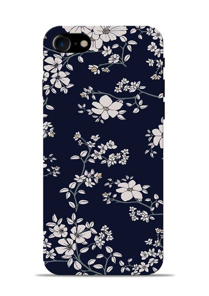 The Grey Flower iPhone 8 Mobile Back Cover