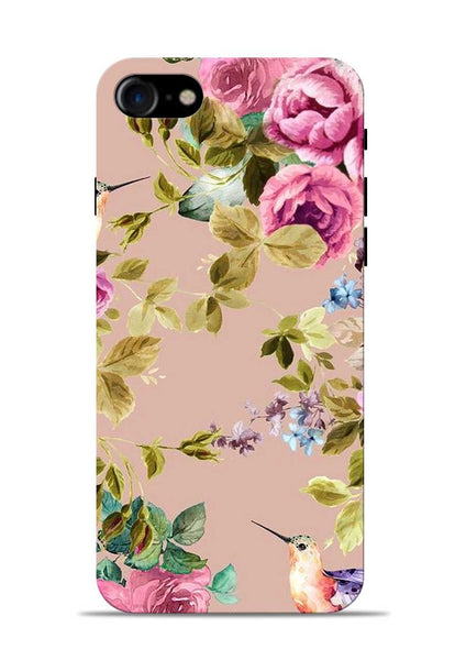 Red Rose iPhone 8 Mobile Back Cover